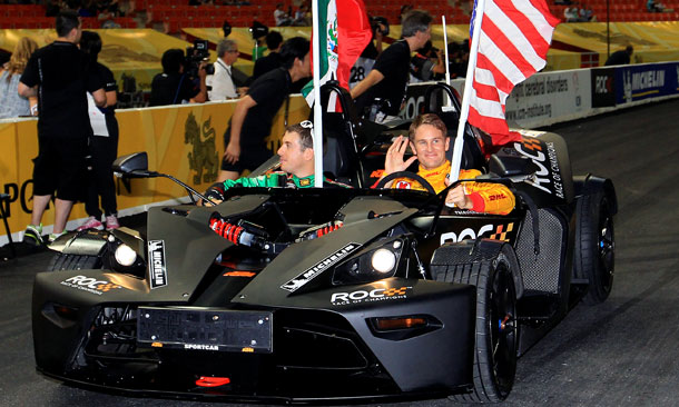 Hunter-Reay debuts at Race Of Champions