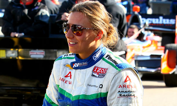 Simona de Silvestro at Long Beach