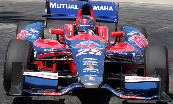 Marco Andretti at Long Beach