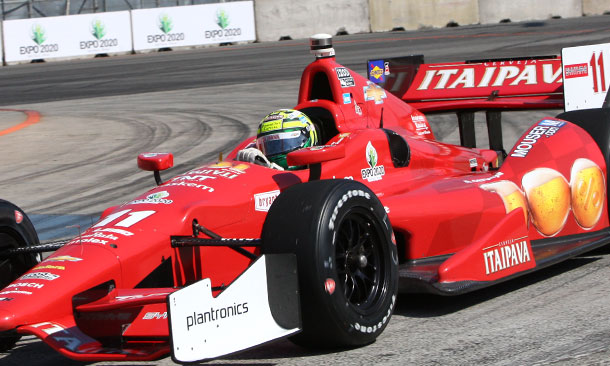 Look for Kanaan on Row 2 in 200th start in a row
