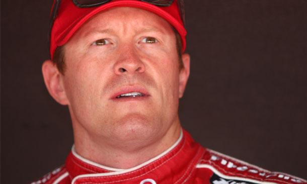 Scott Dixon in pitbox