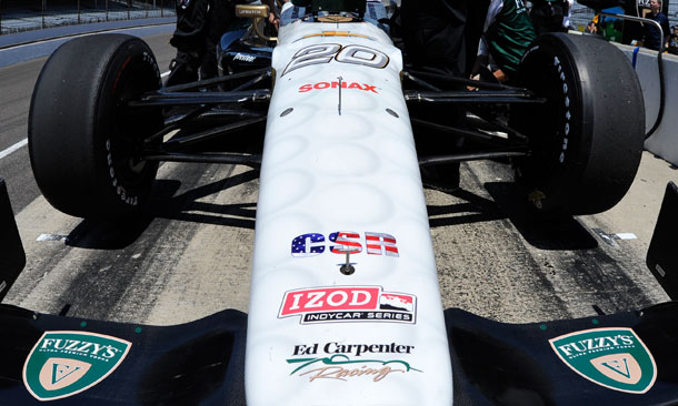 By The Numbers - Indianapolis Qualifications - Ed Carpenter