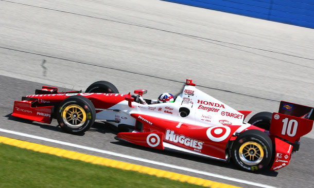 Dario Franchitti at Milwaukee