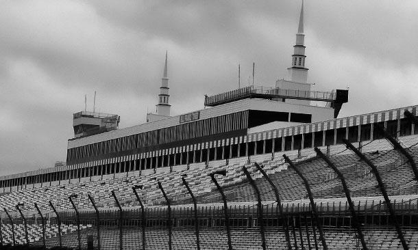 Pocono Raceway spires
