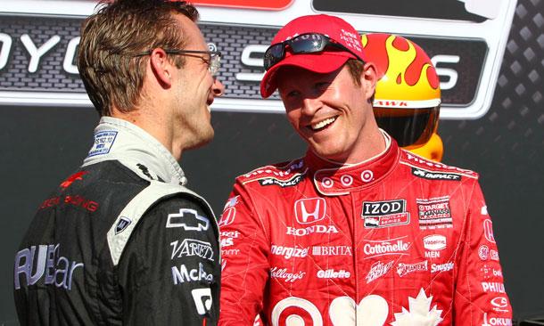 Scott Dixon and Sebastien Bourdais