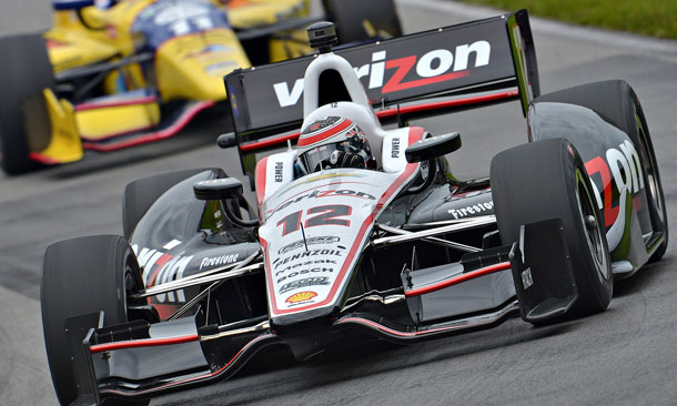 Will Power at Mid-Ohio