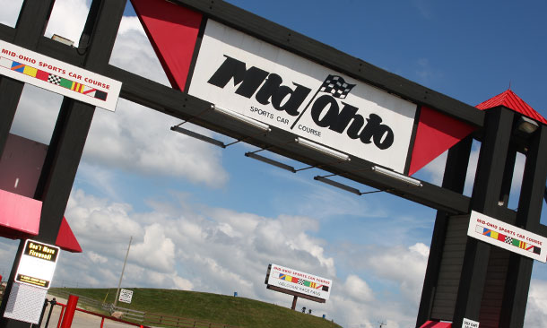 Mid-Ohio Sports Car Course Front Gate