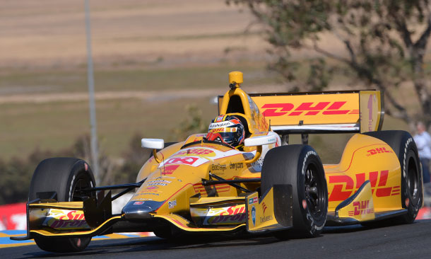 Ryan Hunter-Reay at Sonoma