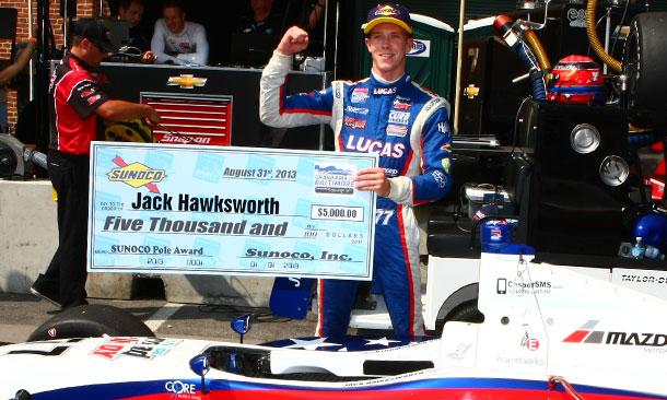 Jack Hawksworth - Pole Winner - Baltimore