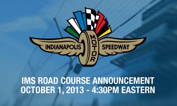 IMS Road Course Announcement