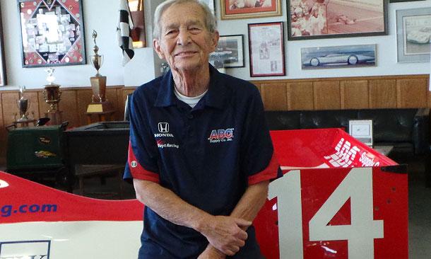 Jack Starne with Foyt Racing