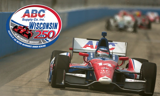 Takuma Sato at Milwaukee IndyFest