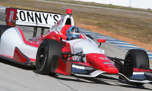 Arie Luyendyk Jr. at Sebring Test