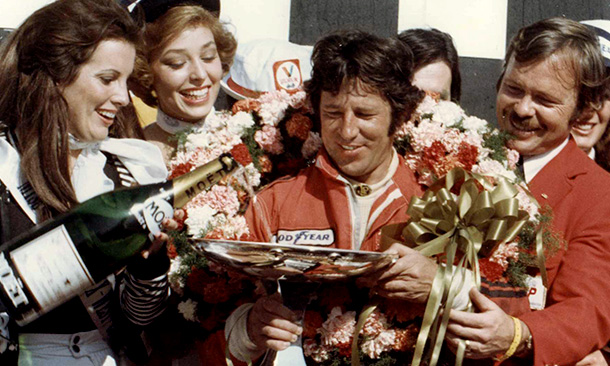 Mario Andretti wins 1977 USGP at Long Beach