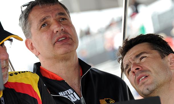 Tino Belli and Oriol Servia