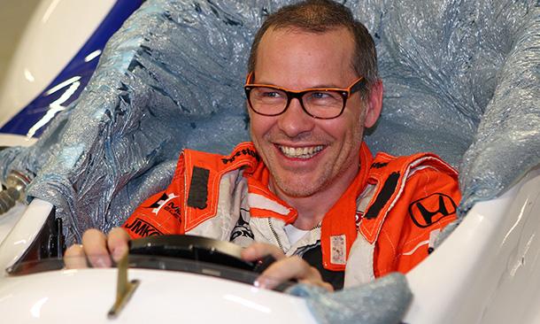 Jacques Villeneuve Seat Fit