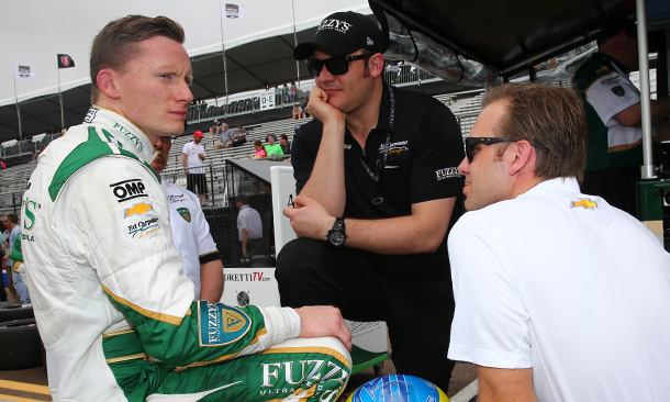 Mike Conway and Ed Carpenter