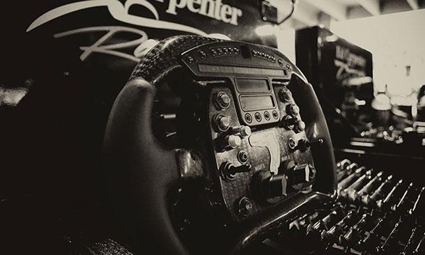 Mike Conway Steering Wheel