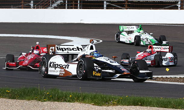 Track Action on IMS Road Course