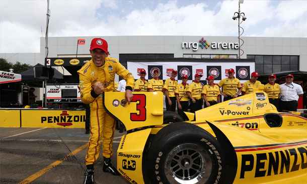 Castroneves Race 2 Pole