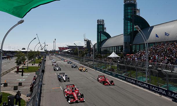 Honda Indy Toronto Standing Start