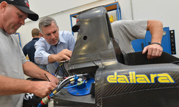 Tony Cotman and the Dallara IL-15