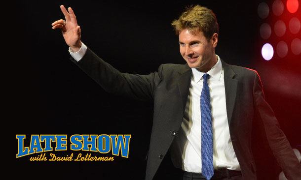 Will Power on David Letterman