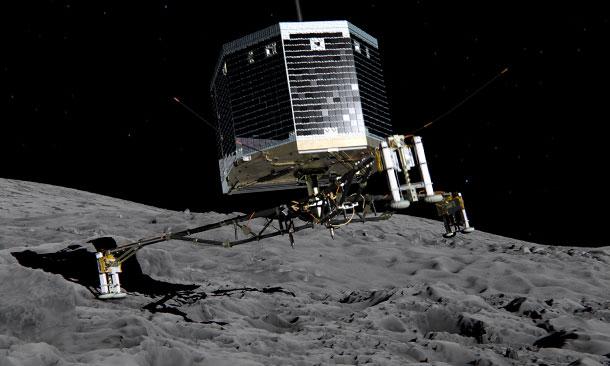 Phillae Comet Probe