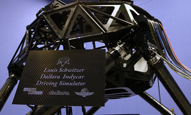 Louis Schwitzer Dallara Indycar Driving Simulator
