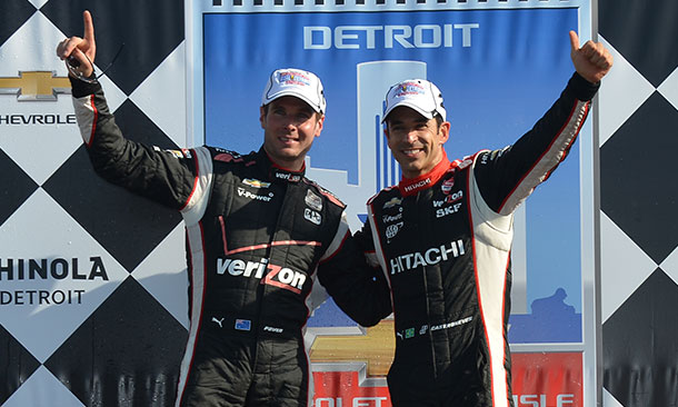 Will Power and Helio Castroneves