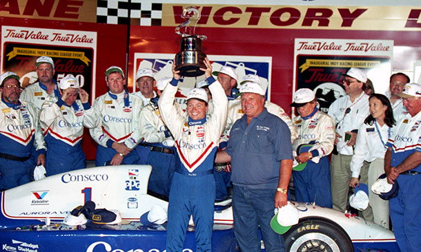 A.J. Foyt and Billy Boat at Texas Motor Speedway