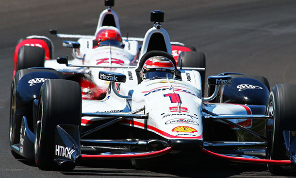 Will Power and Simon Pagenaud