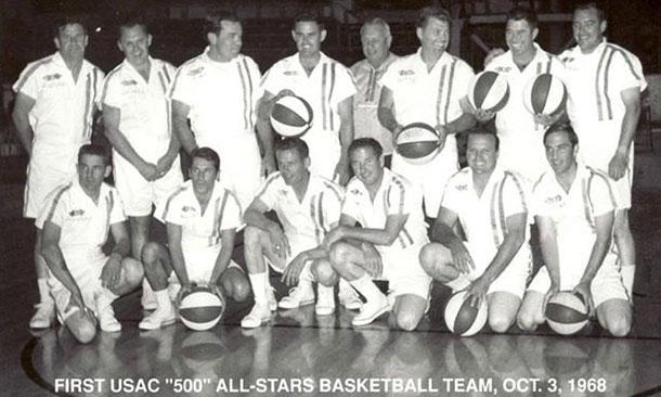 USAC Basketball 1968