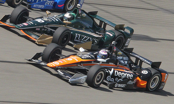 Scott Dixon and Ed Carpenter