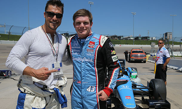 Chris Soules and Conor Daly