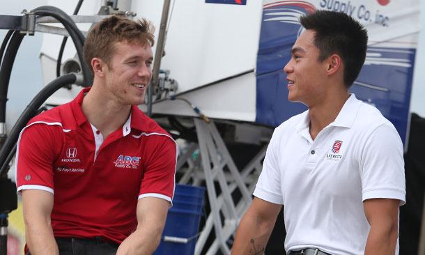 Jack Hawksworth and Weiron Tan