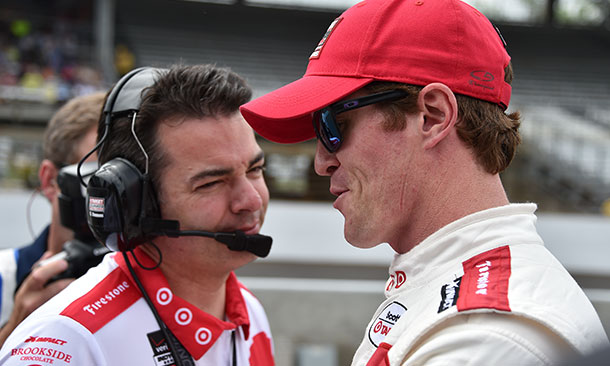 Scott Dixon and Chris Simmons