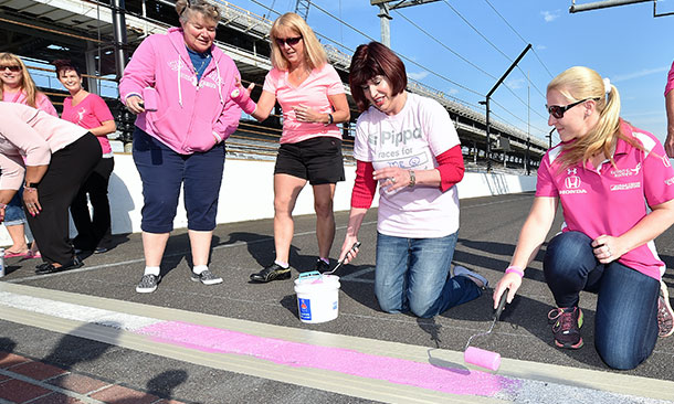 Breast Cancer Awareness at the Indianapolis Motor Speedway