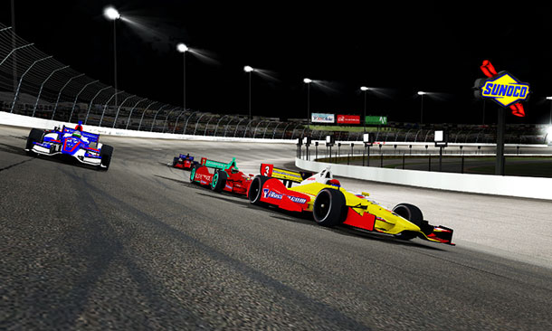 Watch today the opening race of iRacing league