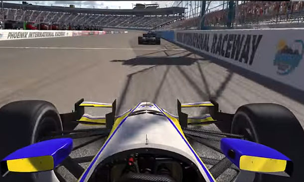 Watch iRacing league Round 2 today at 8
