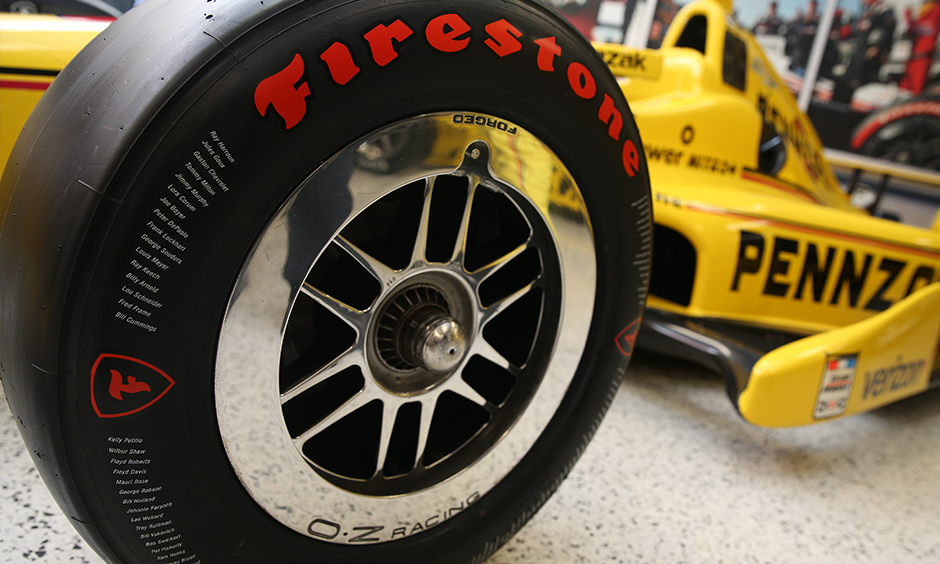 Firestone Unveils Special Tire For 100th Indianapolis 500