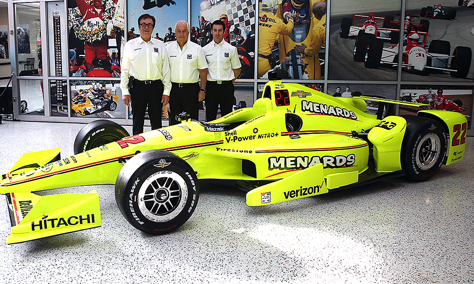 Menards to sponsor Pagenaud's car at 100th Indianapolis 500