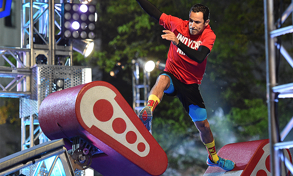 Notes Castroneves Takes On American Ninja Warrior