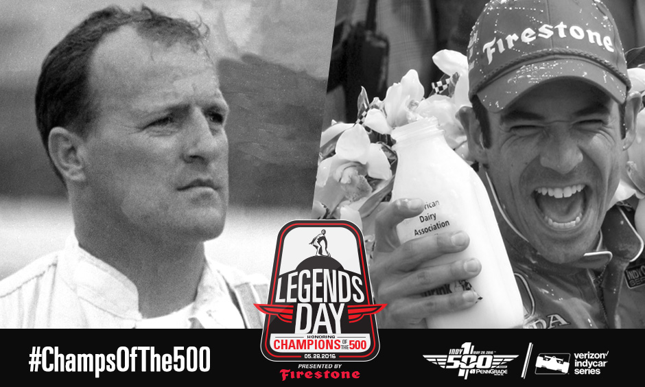 A.J. Foyt vs. Helio Castroneves