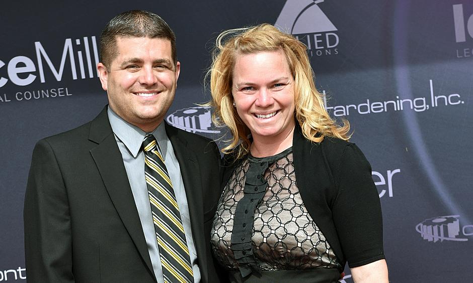 Sarah Fisher and Andy O'Gara
