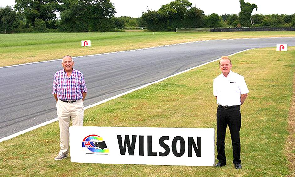 Wilson corner at Snetterton