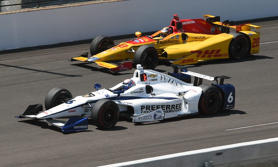 JR Hildebrand and Ryan Hunter-Reay