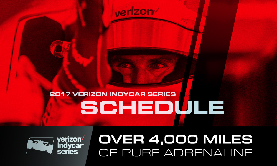 2017 Verizon IndyCar Series Schedule Announcement