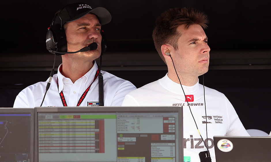 Tim Cindric and Will Power