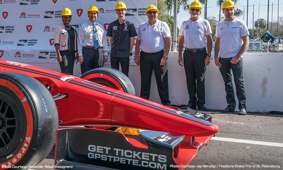 Firestone Grand Prix of St. Petersburg Track Build
